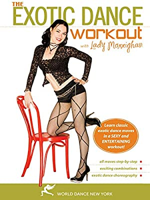 The Exotic Dance Workout (All Regions)(NTSC) [DVD] [2007] from StratoStream - World Dance New York