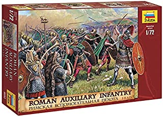 Zvezda 8052 - Roman Auxiliary Infantry (I. BC II. AD) - Plastic Model Soldiers Kit Scale 1/72 1