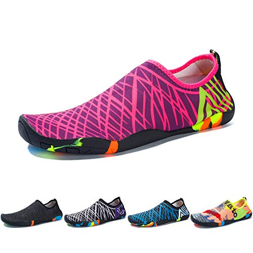 Eriwes Water Shoes for Women and Men Quick Dry Aqua Socks for Yoga Swiming Beach Pool River Outdoor Sports
