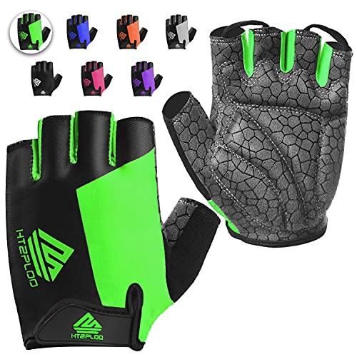 HTZPLOO Bike Gloves Cycling Gloves Biking Gloves for...