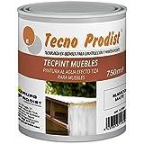 TECPINT MUEBLES de Tecno Prodist - 750 ml (Blanco Roto) Pintura a la Tiza - Ideal para...