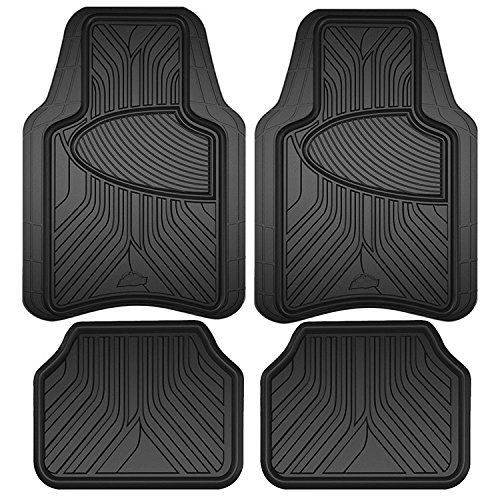 Armor All 78846 Black Rubber Interior Floor Mat