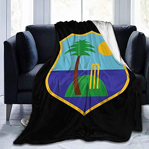 Popcorn In Spring West Indies Cricket Board Flag Fleece Decke werfen leichte Decke Super weich gemütliches Bett warme Decke