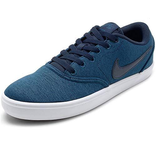 Nike SB Check Solar Cnvs PRM, Zapatillas de Skateboarding Unisex Adulto, Multicolor (Blue Force/Obsidian/White 401), 41 EU