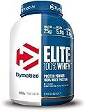 Dymatize Elite Whey Chocolate Peanut 2.1Kg, Pulverizador de adecuada Poteína y Baja Azúcar + Proteína de Suero y BCAA