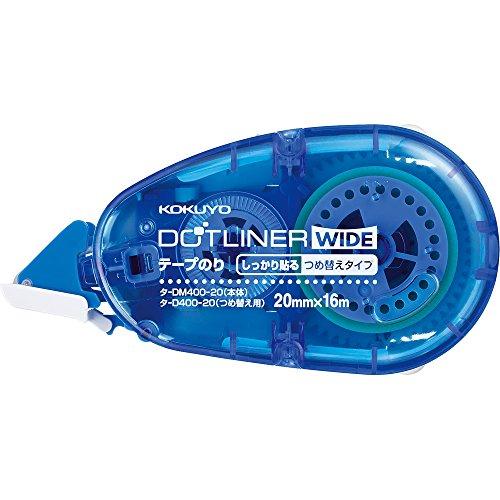 コクヨ テープのり のり ドットライナー ワイド 本体 タ-DM400-20