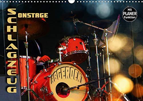 Schlagzeug onstage -