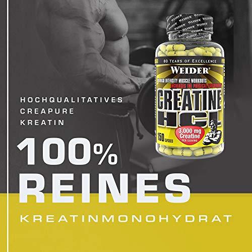 Weider Creatine HCL 150 Kapseln, 1er Pack (1 x 216 g) - 4