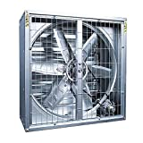SWB METAL Potente Extractor Comercial Industrial, Extractor de Aire, Extractor de Aire, Escape 300 mm, 380 V, bajo Nivel de Ruido, Bodega, Comedor, Garaje, Cocina