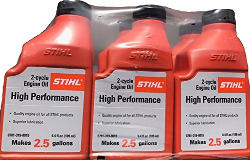 STIHL Mixing Oil 2.5 GAL 2-Cycle Engine Oil (6 Pack)