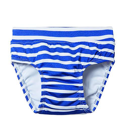 Steiff Baby-Jungen Schwimmwindel, Blau (Surf In The Web 6002), 86