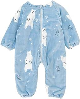 DEBAIJIA Baby Strampler 0-3T Säugling Overall Kleinkind Spielanzug Footed Neugeborene Jumpsuit Pyjama Nachtwäsche Junge Mädchen Unisex