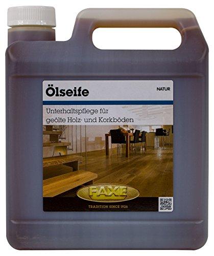 Faxe Ölseife natur 2,5 Liter Holzboden Seife Boden Kork Holz Oelseife