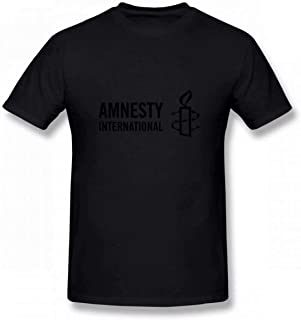Amnesty International Men's Tee Fashion T-Shirt