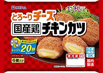 [冷蔵] 伊藤ハム スマートレンジ とろ~りチーズ 國産鶏 チキンカツ 170g