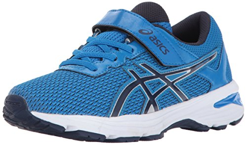 ASICS Unisex-Kids GT-1000 6 PS Running Shoe, Directoire Blue/Peacoat/Silver, 3 Medium US Little Kid
