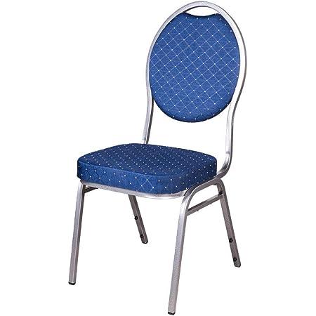 20x Stapelstuhl blau Berlin Deluxe//Bankettstuhl Stapelst/ühle Bankettst/ühle bankettstuhl stapelbar Konferenzstuhl Seminarst/ühle Bankettst/ühle Wartezimmerstuhl Wartezimmerst/ühle Konferenzst/ühle