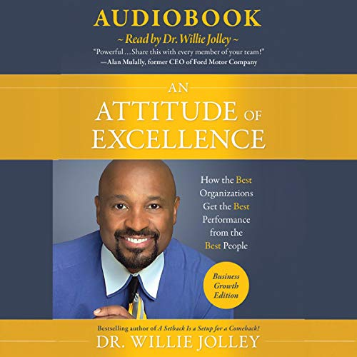An Attitude of Excellence audiobook cover art