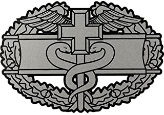 US Army Combat Medical Badge Clear Decal