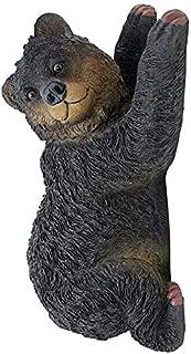 Design Toscano Yonva, the Climbing Bear Sculpture