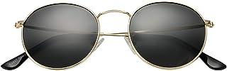 Classic Polarized Sunglasses for Women Men Small Round...