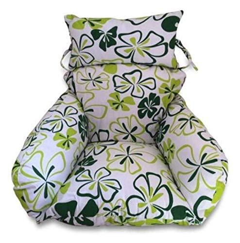 XiYou Hanging Basket Egg Chair Cushions Large Thicken Hanging Egg Hammock Chair Cushion, Swing Chair Cushion for Outside Wicker Rattan Seat Cushion