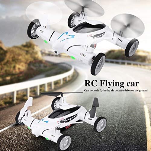RC Fliegendes Auto Quadcopter 2 In1 Drone Air Ground Fernbedienung Spielzeug W/LED Leuchten, QHJ Fernbedienung Spielzeug, Um Ihr Kind Geburtstags Geschenk, Weihnachts Geschenk Für Kinder
