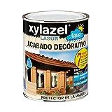 Xylazel - Protector agua lasur mate 750ml castano