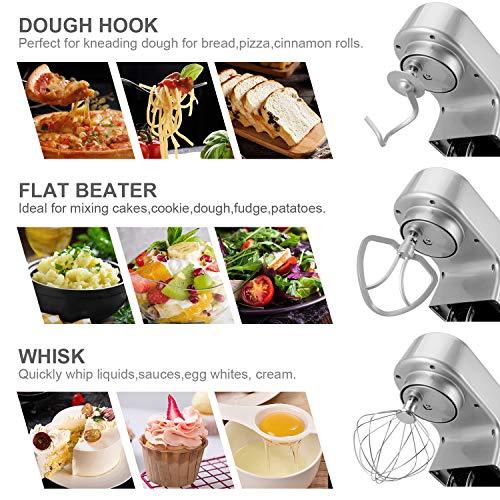 Cookmii 1800W Professionnel Robot Pâtissier Multiplication Robot Petrin Robot de Cuisine...