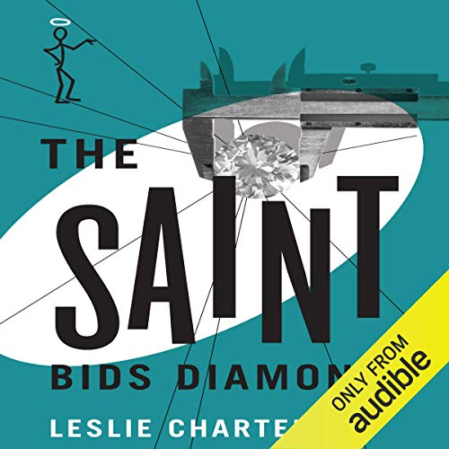 The Saint Bids Diamonds audiobook cover art
