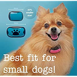 Dog Bark Collar – Large, Medium – No Shock Humane Anti Barking Vibrating Training Collar – Action Without Remote – Vibration & Sound to Stop Barking – FREE Blue, Orange & Pink Covers