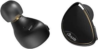 BQEYZ Spring 1 Hi-Res Audio IEM Piezo Electric Dynamic Earphones HiFi Earbuds with Detachable Cable Triple Hybrid Technology Ear Hook Headphones(Mini Jack 3.5 mm,No mic,Black)