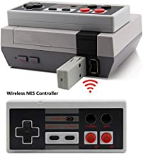 NES Wireless Controller,Tankey New Version Rechargeable Wireless Controller for NES Classic Mini Edition System,Portable Wireless NES Mini Classic Gamepads Controller with Sensitive Buttons (1 Pcs)