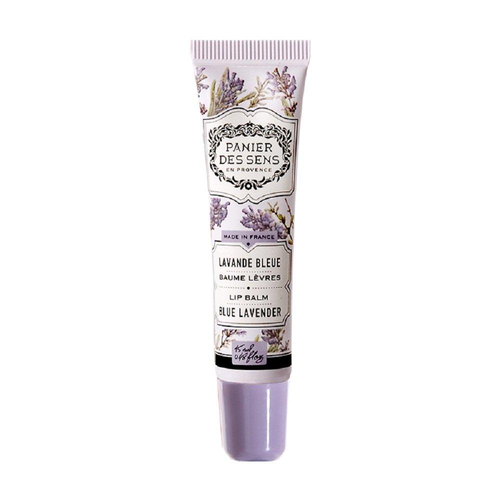 Panier des Sens Blue Ranking TOP18 Tulsa Mall Lavender Lip Balm Ounce 0.48