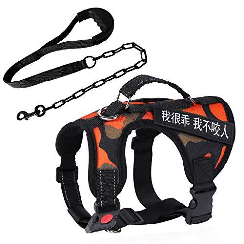 PLL hond borstband met huisdier trekkabel hond ketting grote hond hond hond hond kraag explosieveilige riem pet supplies