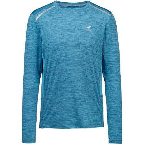 ENERGETICS Camiseta funcional Aimo para hombre, color azul, talla XL