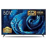 山善 50V型 HDR 4K対応 液晶テレビ ( 裏番組録画 外付けHDD録画対応) Simple Plan ARC-50W4K【Amazon.co.jp限定】