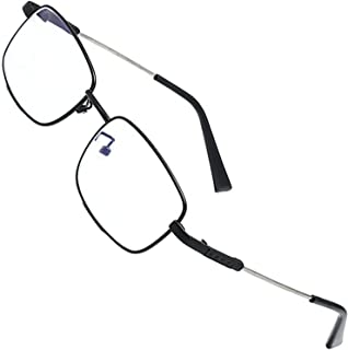Reading glasses.Reading Glasses Metal Full Rim Glasses for reading for Men and Women.anti blue light glasses (Size : +300)