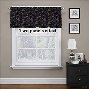 crib bedding and baby bedding shirlyhome colorful solid blackout valance striped triangles energy efficient small curtains 1 panel
