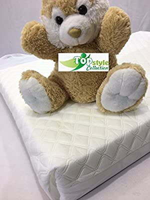 Baby Toddler Fully Breathable Quilted Foam Cot Bed Mattress (140 x 70 x 7.5 cm)