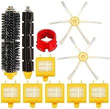 DORLIONA 11pcs Replacement Brush Filter Kit For iRobot Roomba Aerovac700 Series Filters Brush Pack Kit