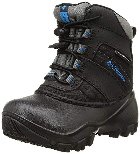 Columbia Childrens Rope Tow I WP Winter Boot (Toddler/Little Kid), Black/Dark Compass, 8 M US Toddler