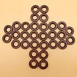 30 unids/lote Kit de sello de aceite de cigüeñal apto para STIHL FS120 FS200 FS250 FS300 FS350 FS380 FS 400450480 80 85 90 desbrozadoras