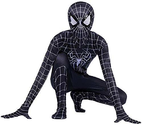 Disfraz Spiderman Nio, Homecoming Spiderman Disfraz Nio, Halloween Carnaval Superheroe Disfraz De Nio De Spiderman, Cosplay Suit Spiderman Mascara Nio, Disfraz De Spiderman Nio,E-XL(142~152)