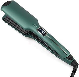 WZHZJ Widening Splint Barber Shop Special Hair Straightener Hair Salon Straightener Clip Curling Dual-use Does Not Hurt Ha...