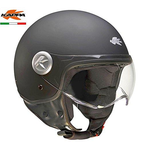 GIVI HKKV20BN90056 Casco Kv20 Rio, Color Negro Mate, Talla S/56