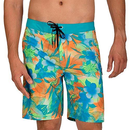 Hurley M Phtm Spray Gun 20' Shorts da Surf, Uomo, Total Orange, 33
