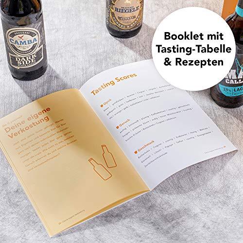 Foodist Premium Craft Beer Adventskalender 2020 - Internationale Biere als Geschenk-Set mit ausgefallenen Biersorten aus der ganzen Welt inkl. Tasting-und Rezeptbuch für Erwachsene (24 x 0.33l) - 6