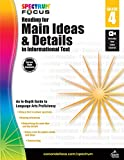 Spectrum - Reading for Main Ideas and Details in Informational Text, Grade 4 (Spectrum Focus)