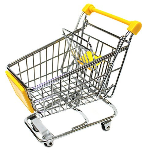 Mini Cart Storage Basket (Size M/Yellow)
